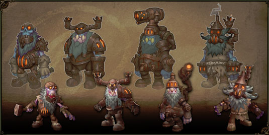 Torchlight 2 - Rasy - The Dwarves (Krasnoludy).